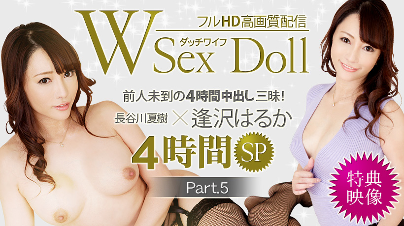 逢沢はるか フルHD W Sex Doll ダッチワイフ 中出し三昧 Part.5 特典映像
